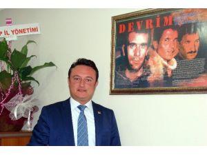 CHP İl Binası'na Tehdit Paketi