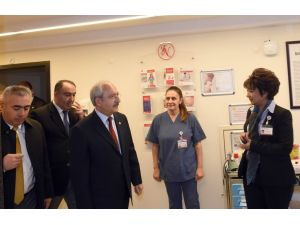 Kılıçdaroğlu, Kamer Genç'i ziyaret etti