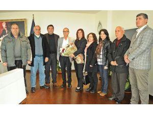Alevi Kültür Dernekleri Kuşadası Şubesinden Başkan Çerçioğlu'na Ziyaret