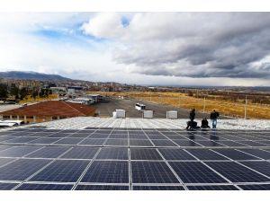 Güneş Enerjisinden 454 Bin Kwh Elektrik Üretilecek