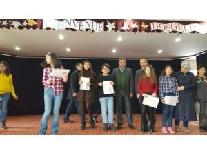 Bilecik'te Dereceye Giren Öğrenciler Ödüllendirildi