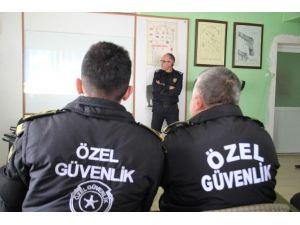 Uşak'ta Özel Güvenlik Personeline Özel Eğitim