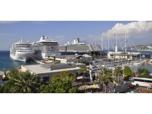 Kuşadası'na Yapılacak 52 Turist Gemisi Seferi İptal Oldu