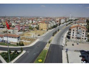 Karaman'da Alparslan Türkeş Bulvarı Yenileniyor