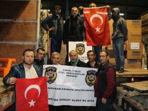 Emekli Özel Harekatçılardan Çatışma Bölgesindeki Meslektaşlarına Anlamlı Yardım