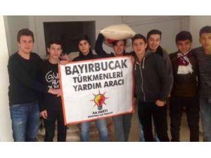 Bayırbucak Türkmenlerine Yardım Kampanyası Düzenlendi