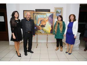 Konak Kültürevi'nde 'Aile Boyu Resim Sergisi'