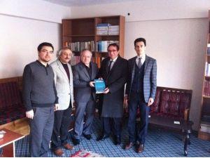 Yakutiye Kaymakamı Dr. Helvacı'dan TYB Erzurum Şubesi'ne Ziyaret
