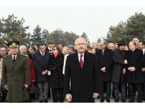 Kılıçdaroğlu, PM Ve YDK Üyeleriyle Anıtkabir'i Ziyaret Etti