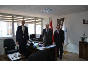 Büyükşehir Belediyesi Meclis Başkan Vekili Ve CHP İl Başkanından Teski'ye Ziyaret