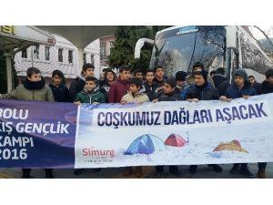 Eyüplü Öğrenciler Sömestr Tatilini Kış Kampında Geçirecek