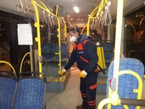 EGO Otobüslerinde Grip Önlemi