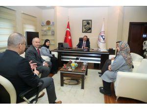 Bahreyn Krallığı ile ERÜ arasında işbirliği görüşmesi yapıldı