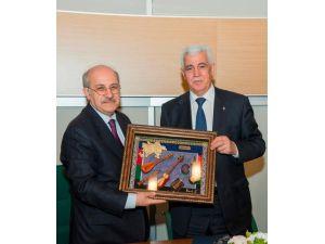 Rektör Süleymanov, İstanbul Teknik Üniversitesi'ni ziyaret etti