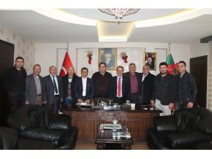 Aksaray'da AK Parti Heyetinden Ziyaretler