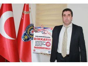 """Manavgat Polisinden """"Telefondaki Her Sese Aldanma"""" Projesi"""