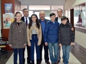 Söğüt'te TEOG Sınavında Dereceye Giren Öğrenciler Ödüllendirildi