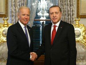 Cumhurbaşkanı Erdoğan, Biden görüşmesi başladı