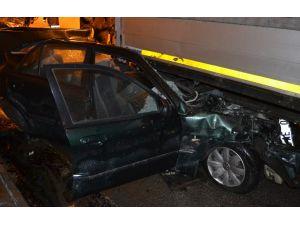Havza Tüneli'nde zincirleme kaza: Biri ağır 7 yaralı
