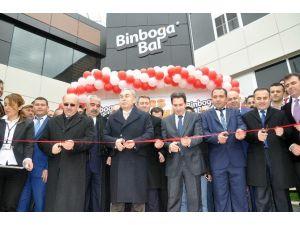 Türkiye'nin Yüzde 40 Bal İhtiyacını Karşılayan Binboğa Bal Kooperatifinin Yeni Binası Açıldı