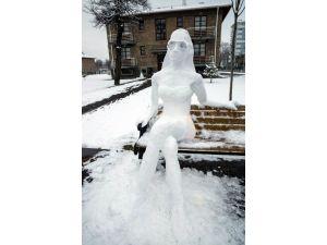 Kar İle Yapılan Sanat
