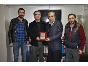 Artvinspor Kulübü'nden AGC'ye ziyaret