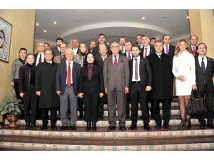 Asiyad Yönetim Kurulu Üyeleri, Başkan Yılmaz'ı Ziyaret Etti