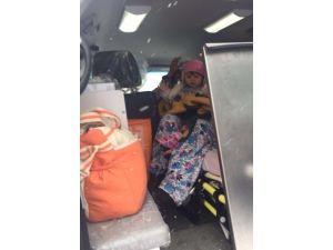 Paletli Ambulans 18 Aylık Bebeğin Yardımına Koştu