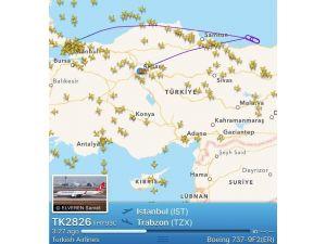 İstanbul-trabzon Uçağı Ankara'ya Zorunlu İniş Yaptı