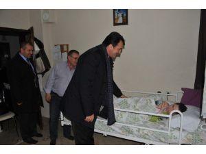 Osmangazi'nin Sevgi Eli Yatalak Hastaya Değdi