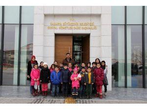 SGM Öğrencileri Hayvan Barınağını Ziyaret Etti