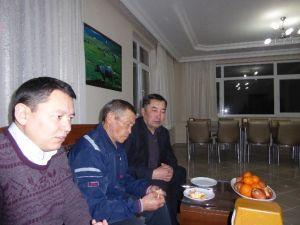 Kırgız Issık Göl Üniversitesinden Çatalzeytin'e Ziyaret