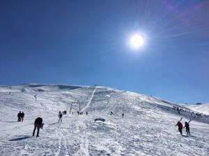 Elmadağ'da Kayak Keyfi