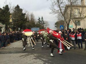 Şehit cenazesinde basına engel
