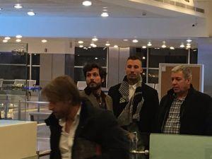 Beşiktaş'ın anlaşmaya vardığı Alexis Delgado İstanbul'a geldi