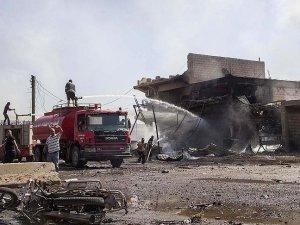 Kamışlı'da internet kafeye bombalı saldırı: 5 ölü