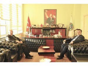 Başkan Albayrak, Malkara Belediyesi'ni Ziyaret Etti