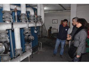 Trabzon'da Hava Kirliliğini Azaltmak İçin Kazan Daireleri Denetleniyor