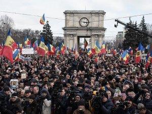 Moldova'da hükümet karşıtı gösteriler devam ediyor