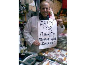 Esnaf 'Türkiye İçin Dua ET' Kampanyası Başlattı
