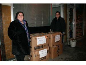 Devrek'ten Bayır Bucak Türkmenlerine Yardım