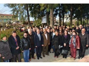 Uğur Mumcu Çiğli Ve Gaziemir'de Unutulmadı