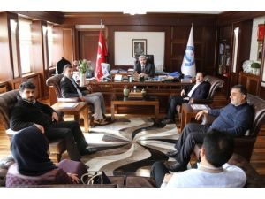 AK Parti Merkez İlçe Yönetiminden Üniversiteye Ziyaret