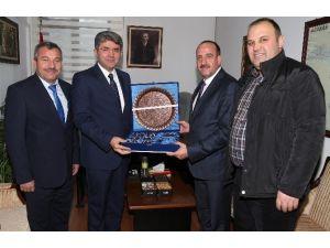Başkan Duruay'dan Vali Yardımcısı Zengin'e Ziyaret