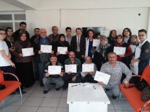 Beyşehir'de Açılan Diyabet Okulu İlk Mezunlarını Verdi