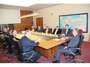 TSO Başkanı Ve Yönetim Kurulu Üyelerinden Şahin'e Ziyaret
