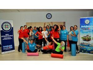 Büyükşehir'den Zumba, Pilates Ve Aerobik Kursu