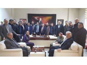 AK Parti Aşkale İlçe Teşkilatından Ziyaret