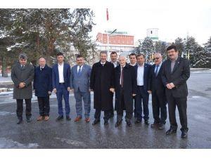 AK Parti MKYK Üyesi Yaşar Karayel İle Ziraat Odalarından Kayseri Şeker'e Teşekkür Ziyareti