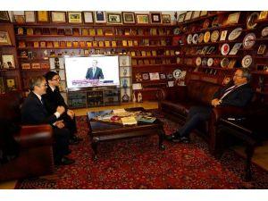 Tayvan Türkiye Temsilcisi Cheng'den, Ünver'e Ziyaret